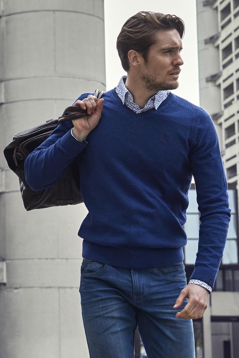 Vanguard Pullover Blau Foto 4