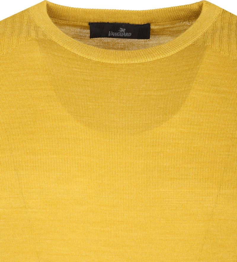 Vanguard Pullover yellow ocher photo 1