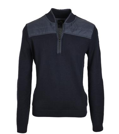 Vanguard Pullover Zipper Donkerblauw  online bestellen | Suitable