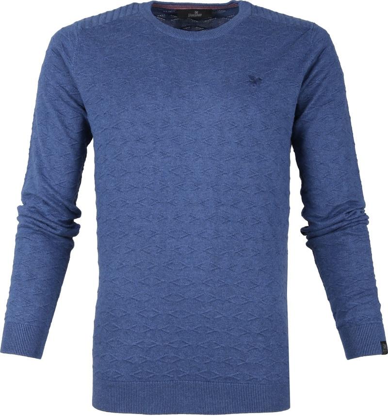 Vanguard R-Neck Pullover Blauw foto 0