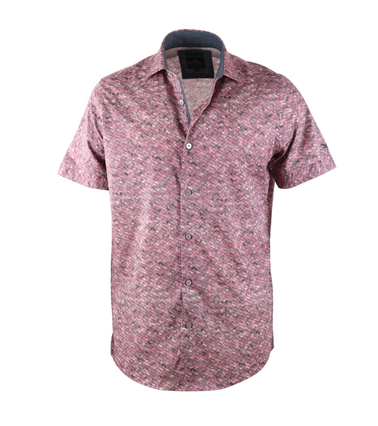 Vanguard Shirt Rood Print  online bestellen | Suitable