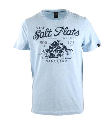 Vanguard T-shirt Salt Flats Blauw  online bestellen | Suitable
