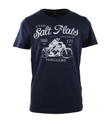 Vanguard T-shirt Salt Flats Donkerblauw  online bestellen   Suitable