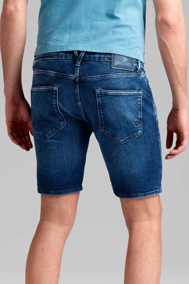 Vanguard V18 Rider Jeans Short Mid Blue