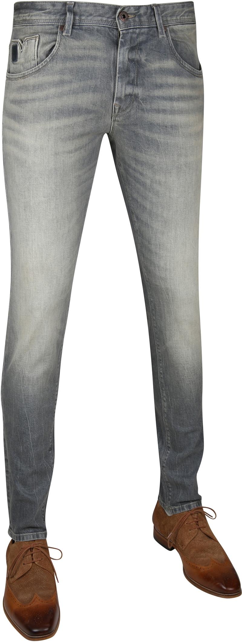 Vanguard V7 Rider Jeans Grey Beige photo 0