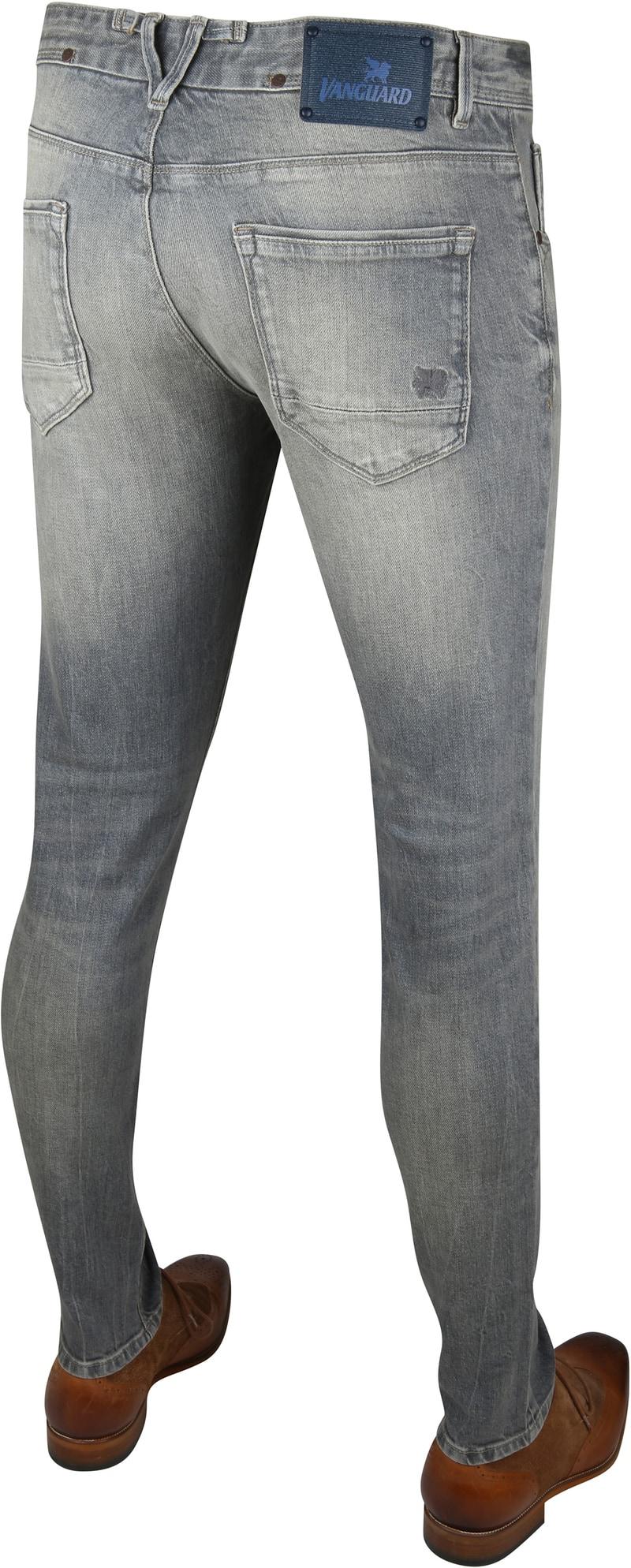 Vanguard V7 Rider Jeans Grey Beige photo 3