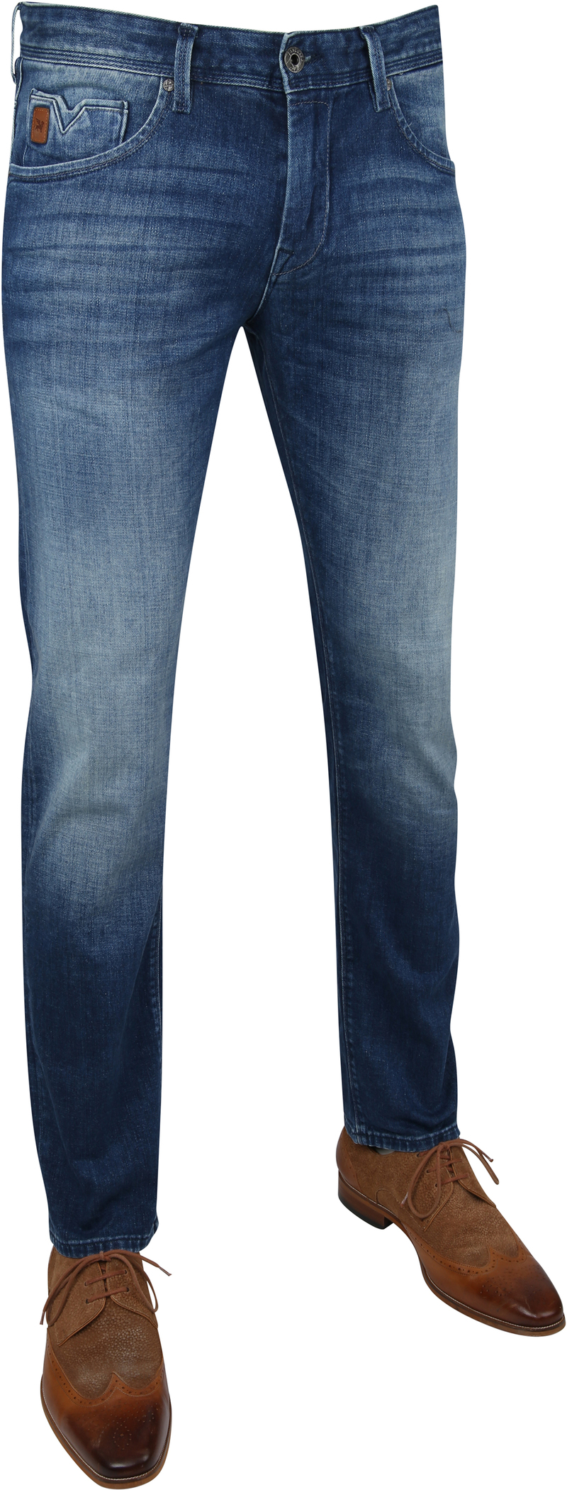 Vanguard V7 Rider Jeans Grey Beige photo 5