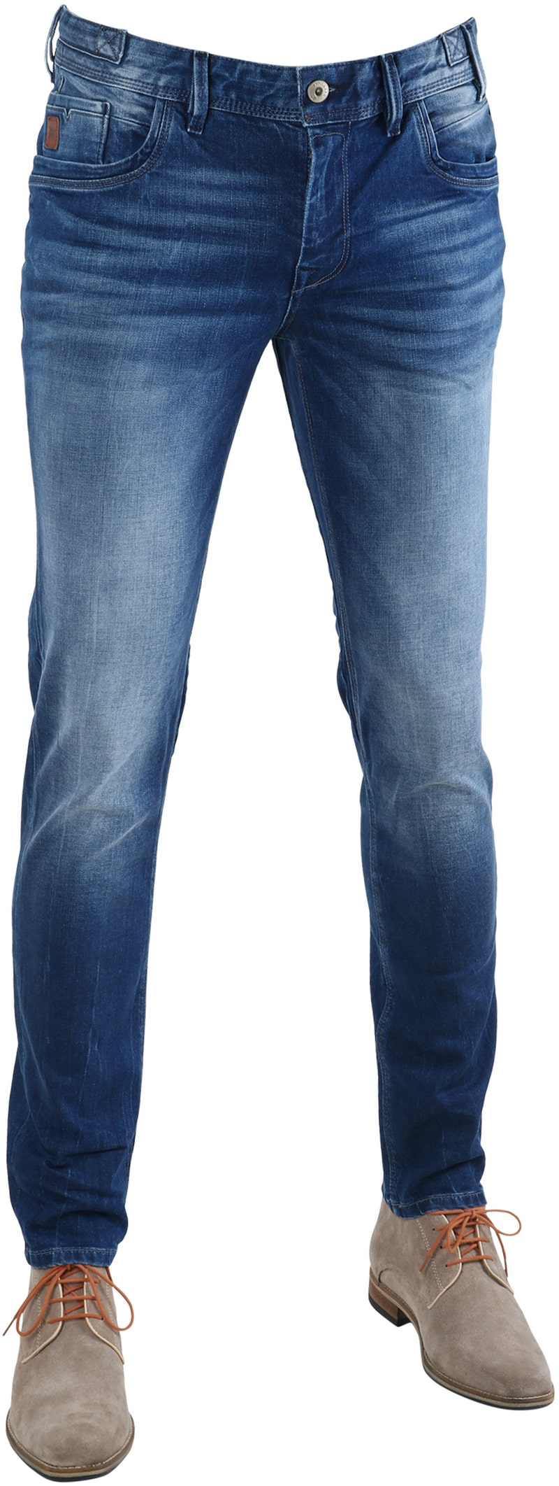 Detail Vanguard V8 Racer Jeans Blauw