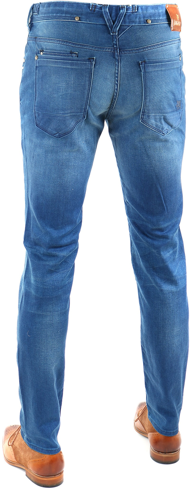 Detail Vanguard V8 Racer Jeans Blue