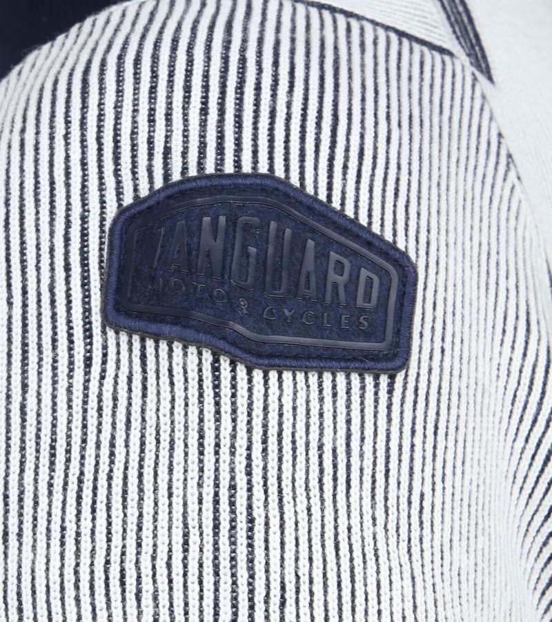 Vanguard Zip Jacket White Stripes photo 4