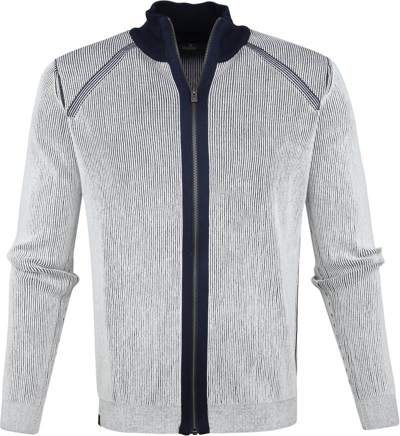 Vanguard Zip Jacket White Stripes photo 0