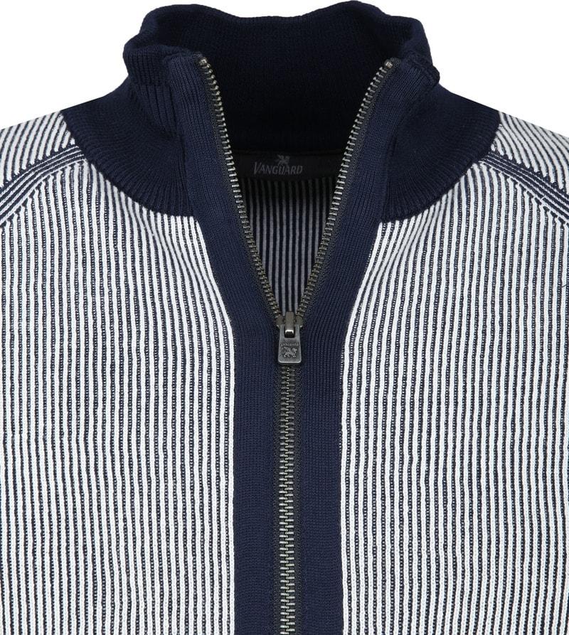 Vanguard Zip Jacket White Stripes photo 1
