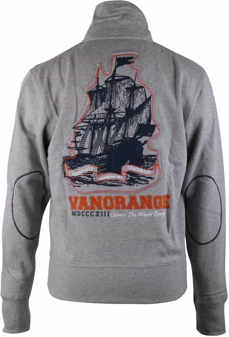 VanOrange Cardigan Grey Ship 17