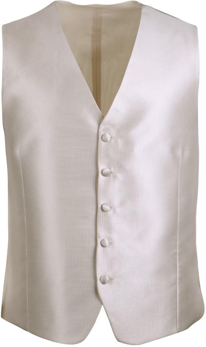 Wedding Waistcoat Ecru Carre
