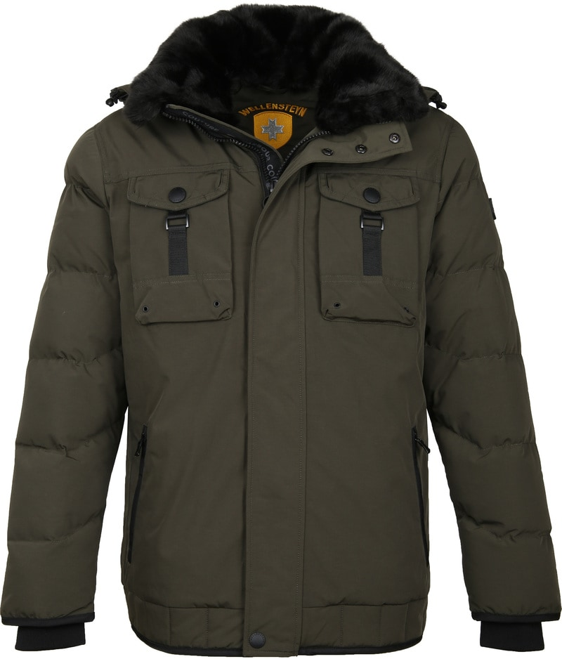 Wellensteyn Firewall jacket Dark Green photo 0