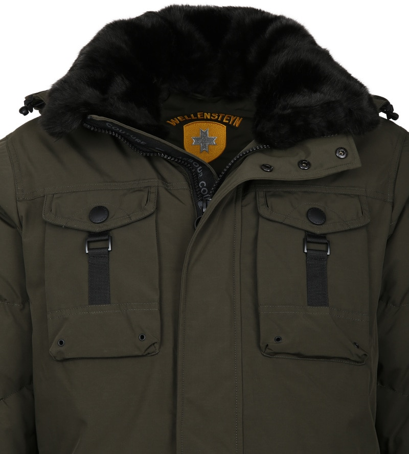 Wellensteyn Firewall jacket Dark Green photo 1