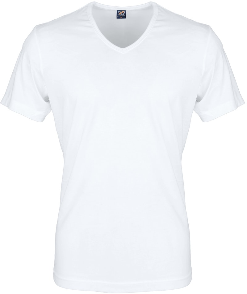 White T-shirt 6-Pack V-Neck photo 1
