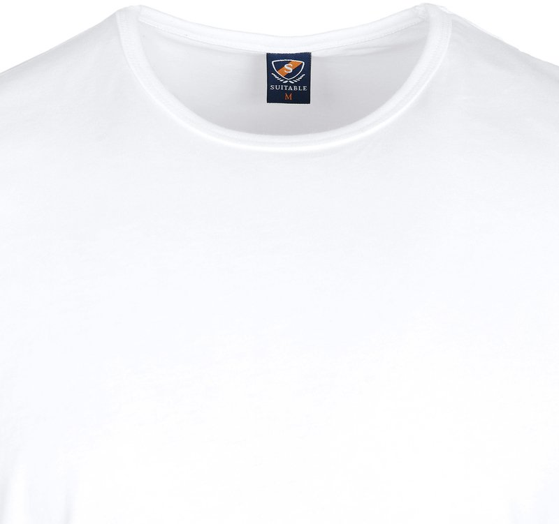 White T-shirt O-Neck 6-Pack photo 3