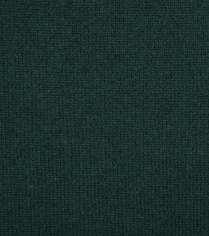 William Lockie Lambswool Mos Groen foto 1