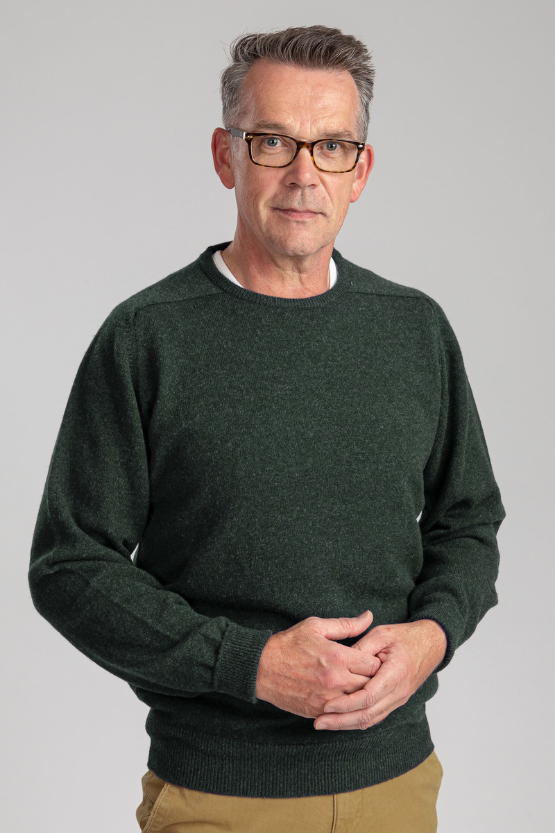 William Lockie Rosemary Lambswool Groen foto 3