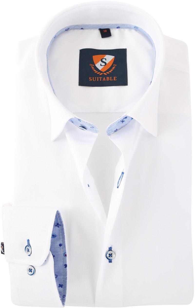 Wit Overhemd 154-1  online bestellen | Suitable
