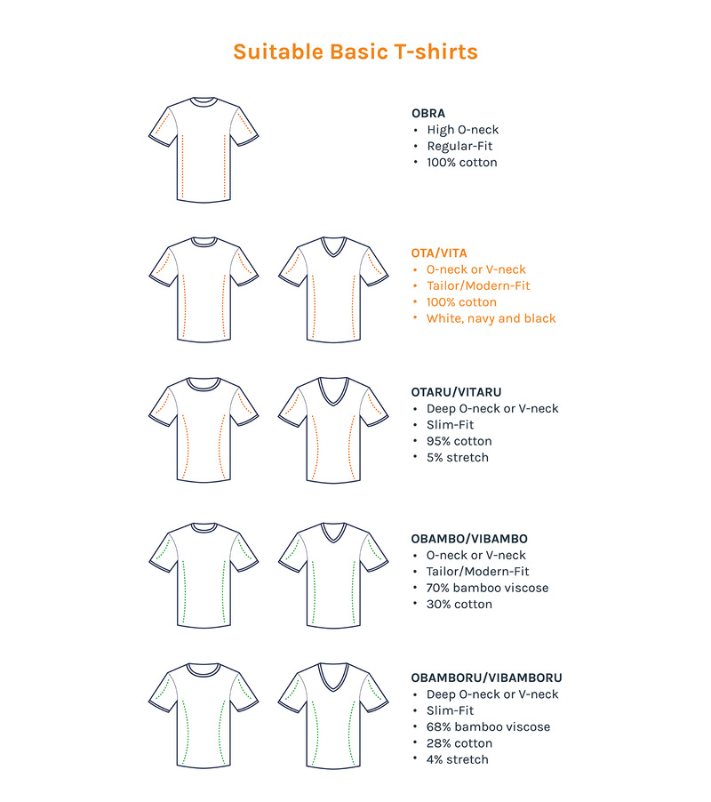 Wit T-Shirt 6Pack V-neck foto 6