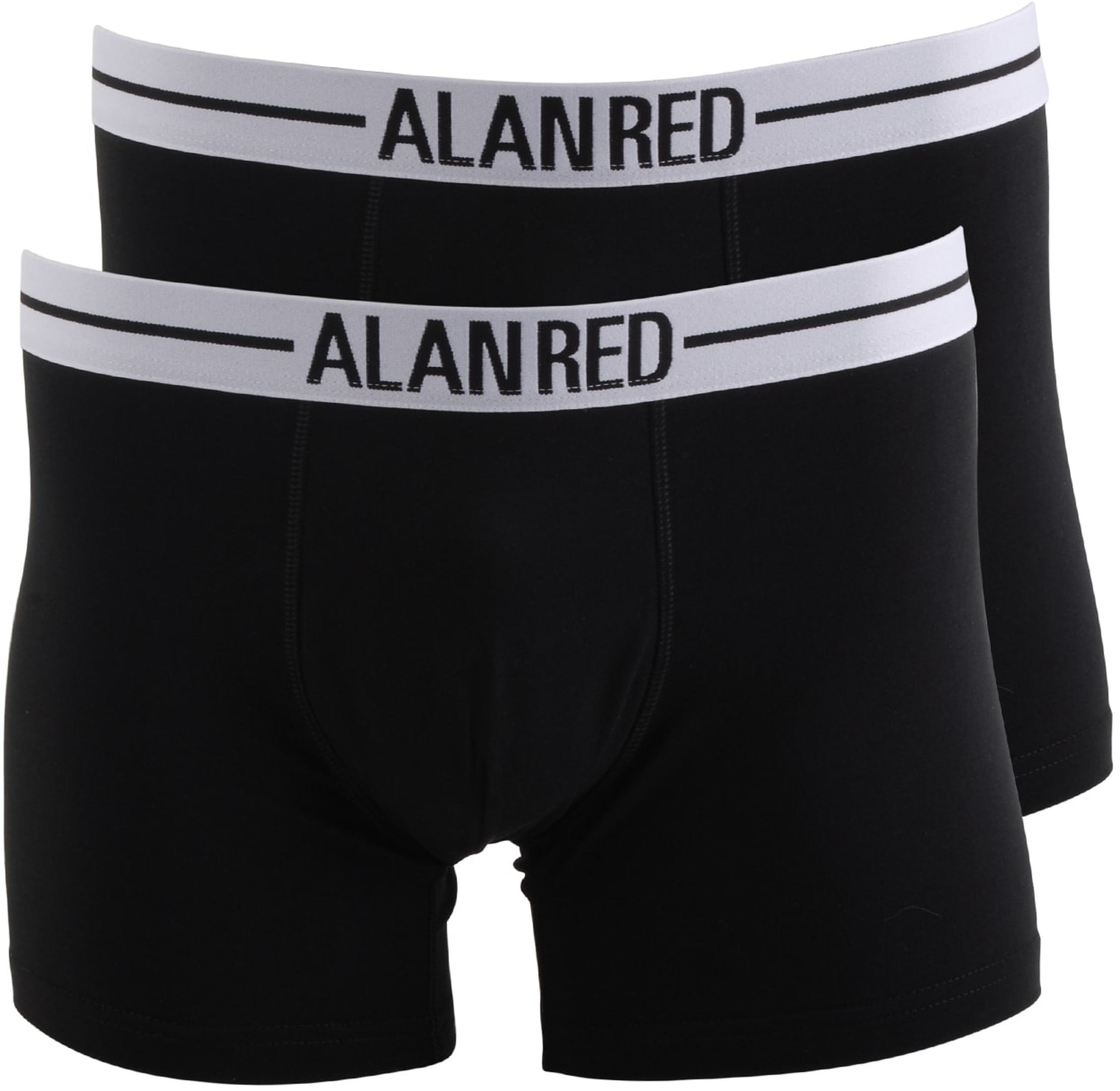 Alan Red Boxer Shirts Black 2-Pack foto 0