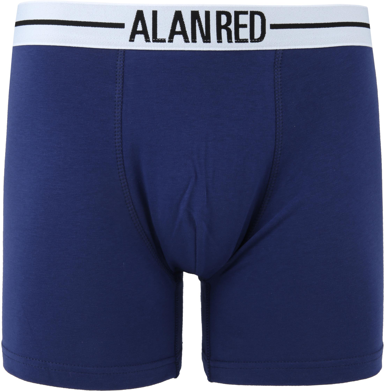 Alan Red Boxer Shirts Dark Blue 2-Pack foto 1
