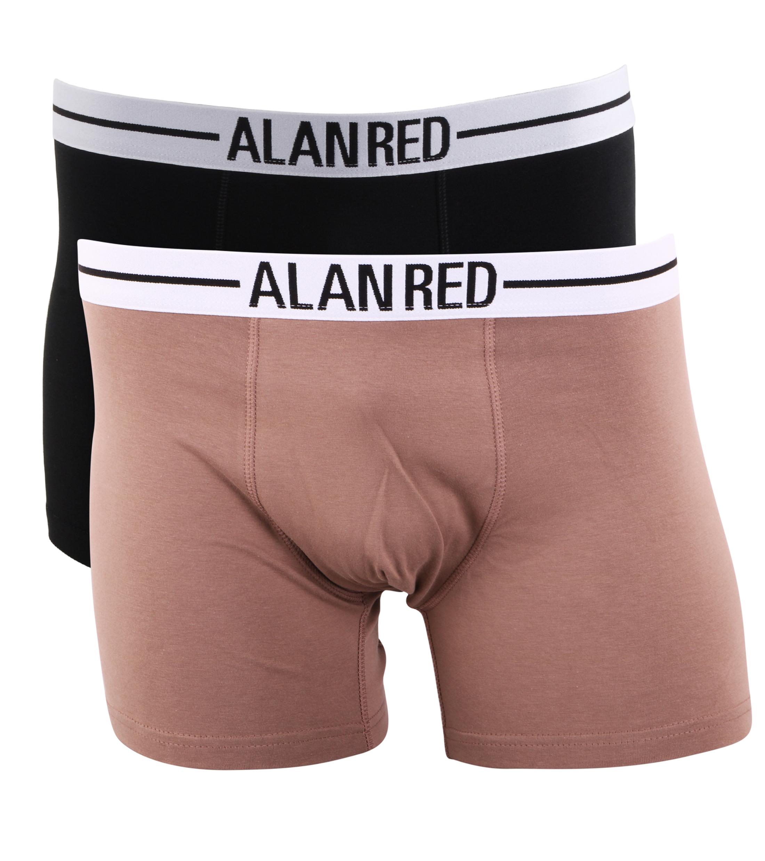 Alan Red Boxershorts Brown Black foto 0