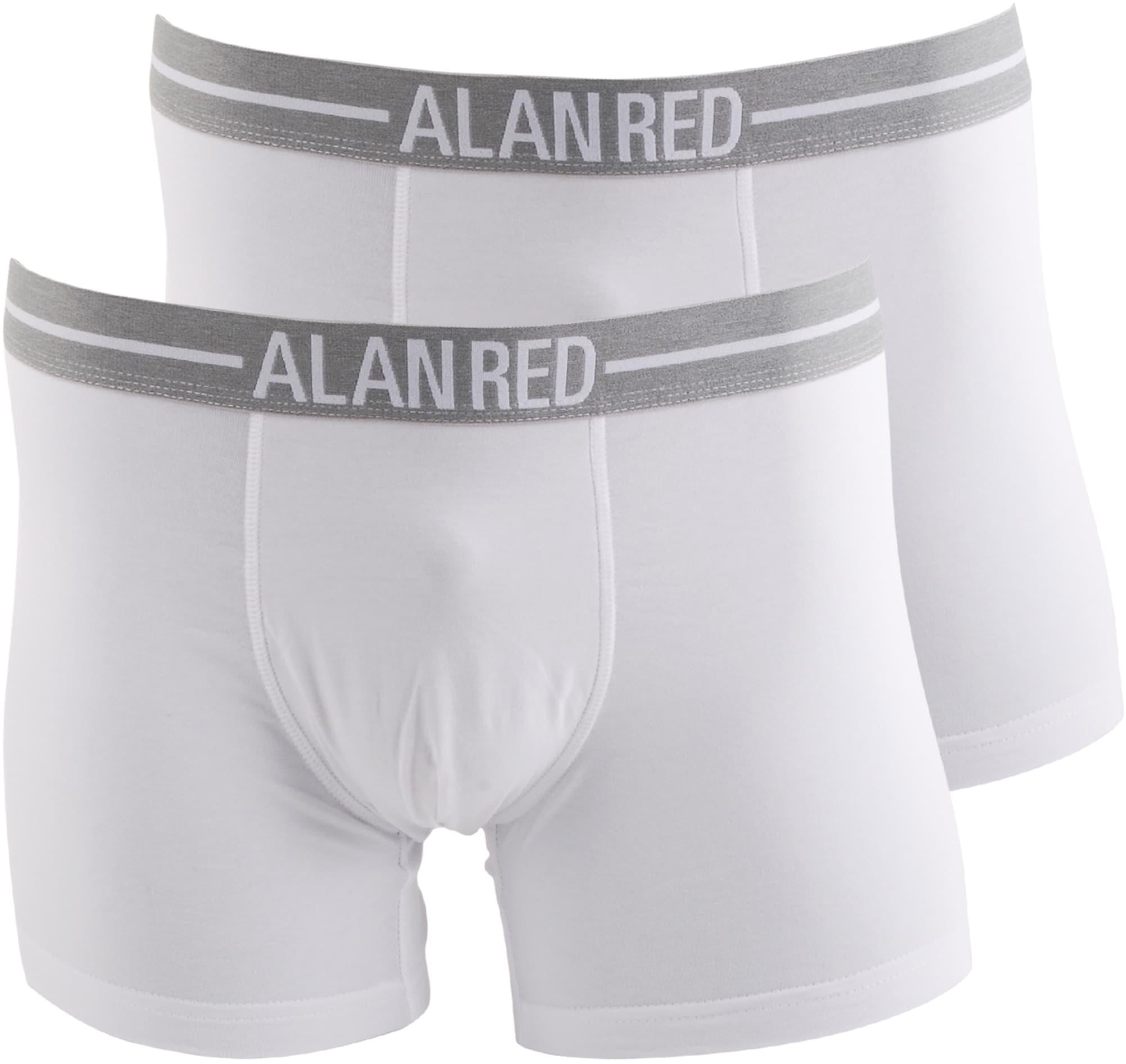 Alan Red Boxershorts Weiß 2er-Pack foto 0