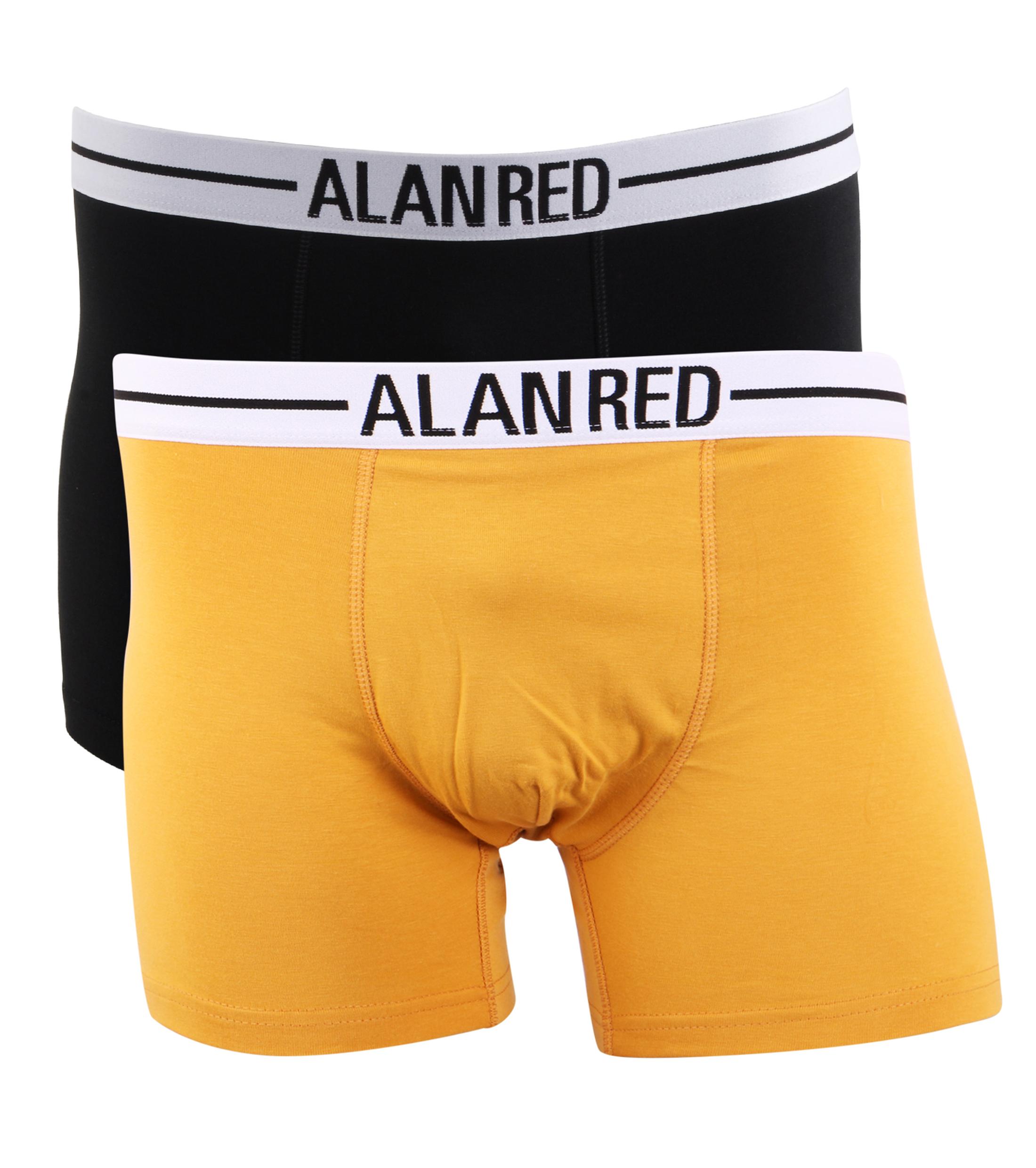 Alan Red Boxershorts Yellow Black foto 0