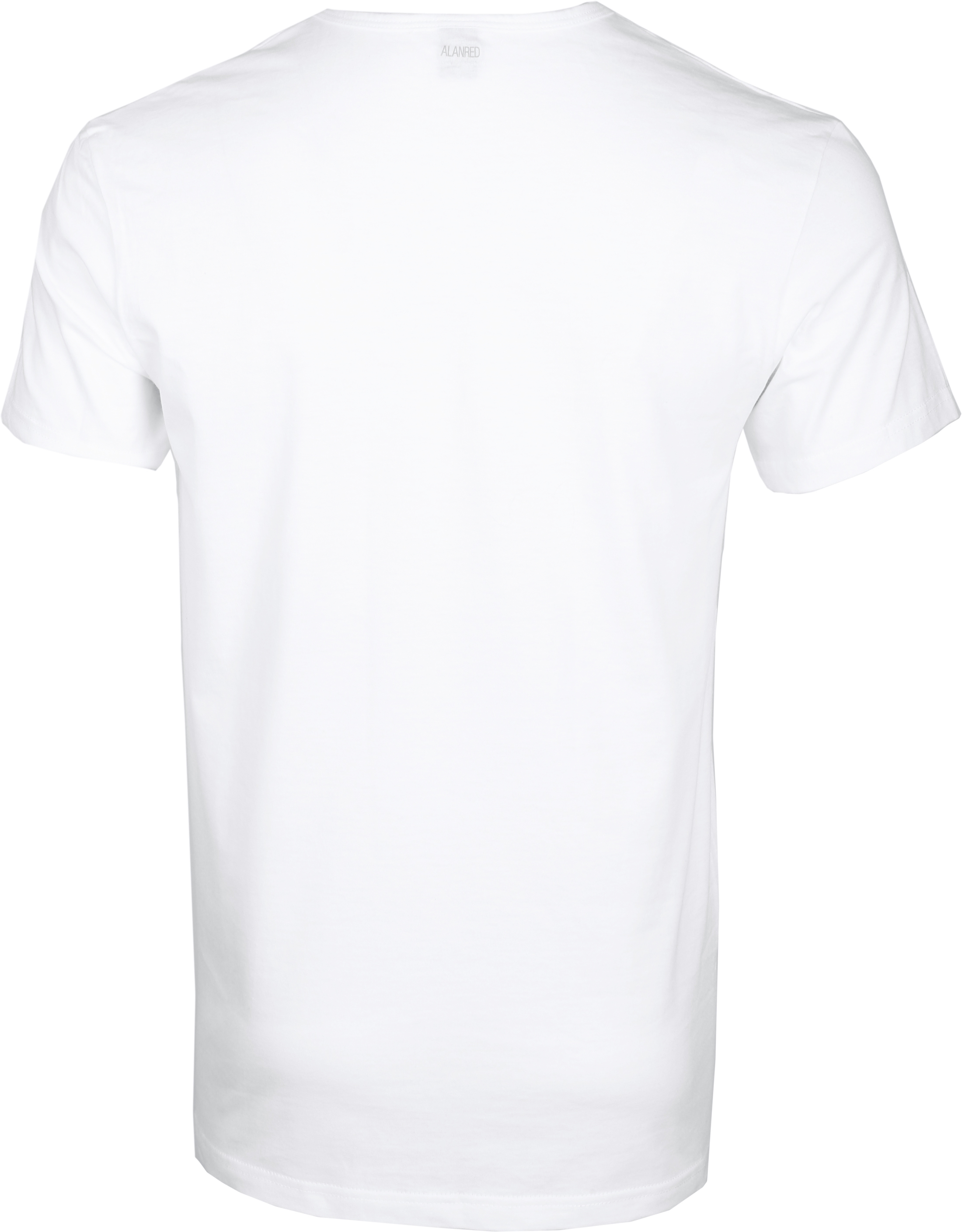 Alan Red Dean V-Neck T-shirt White 2-Pack foto 1
