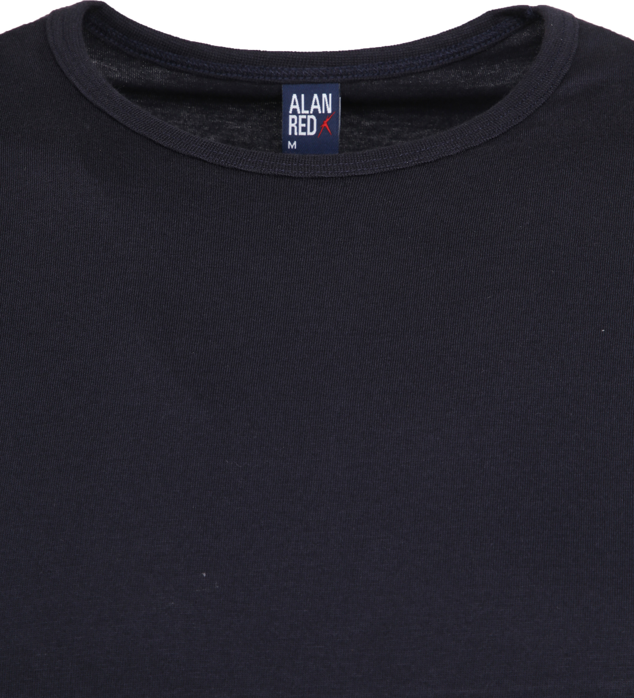 Alan Red Derby Extra Lang T-Shirt Navy (1Pack) foto 1
