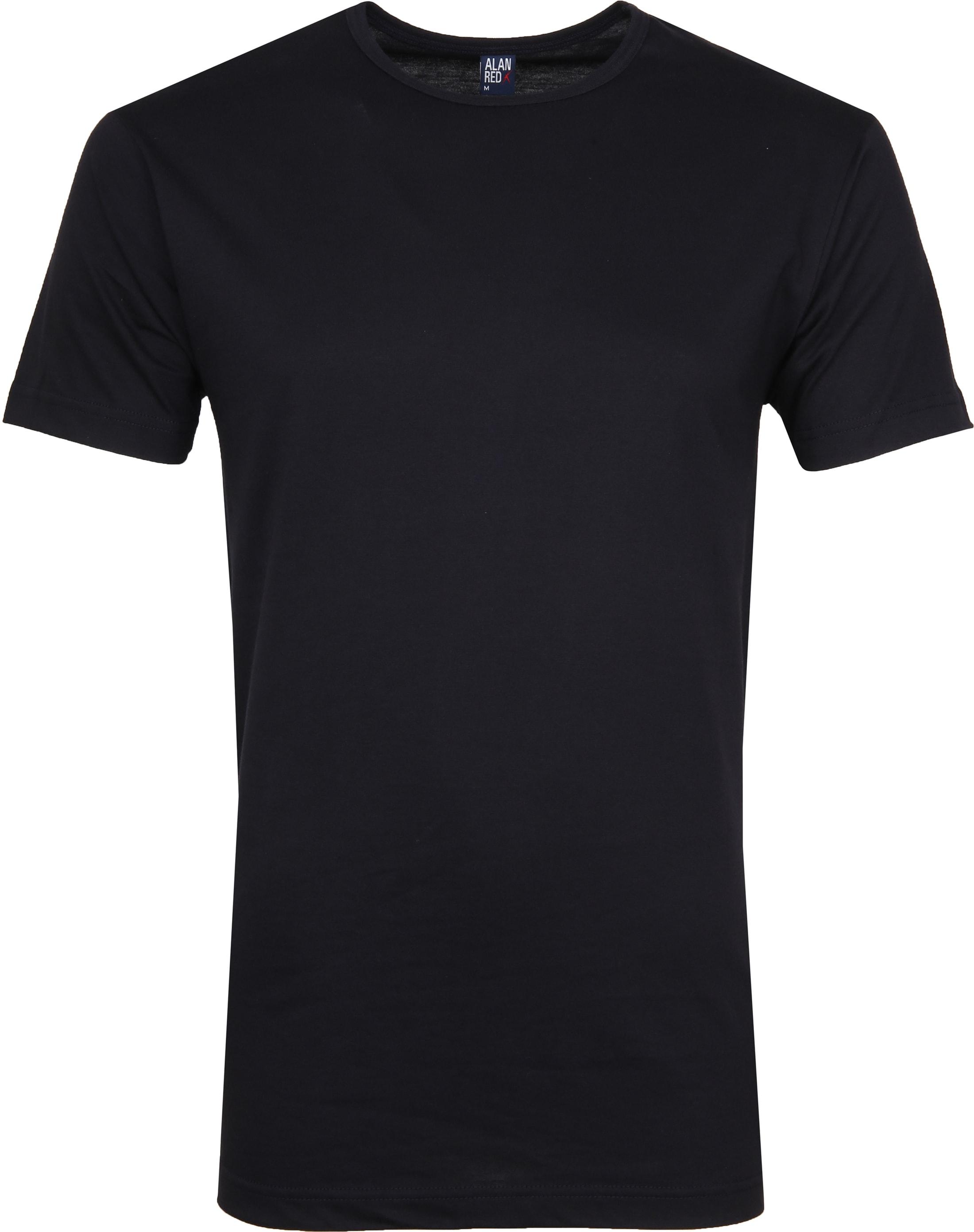 Alan Red Derby O-Ausschnitt T-Shirt Dunkelblau (2er-Pack) foto 1