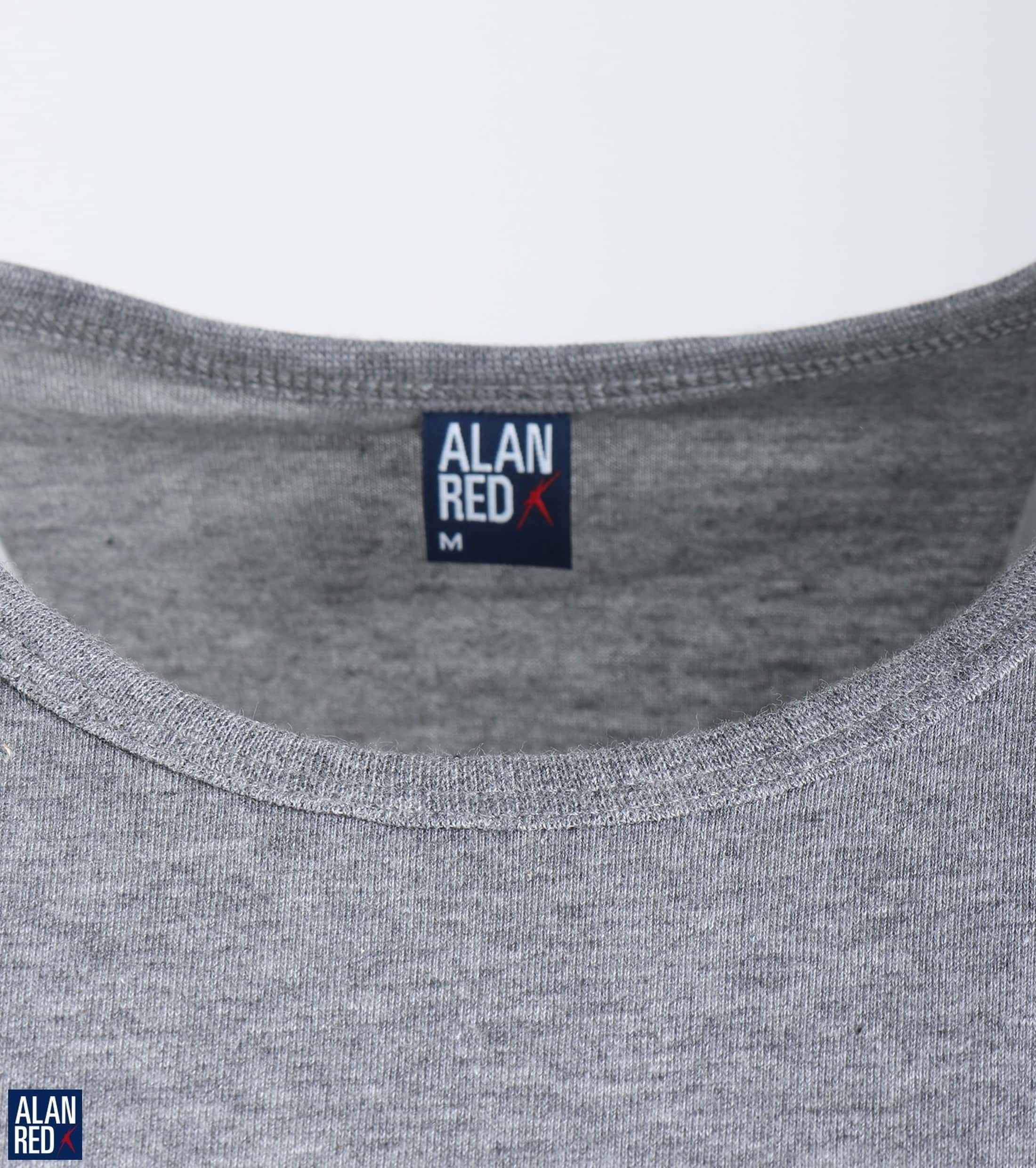 Alan Red Derby O-Neck T-shirt Mouse 1-Pack foto 2