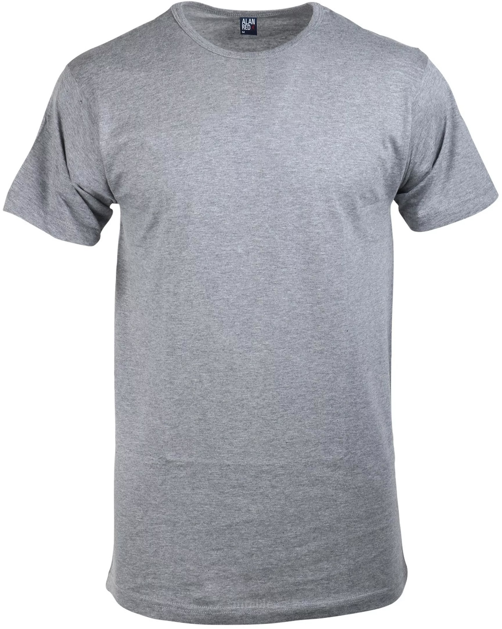 Alan Red Derby O-Neck T-shirt Mouse 1-Pack foto 0