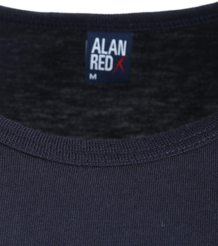 Alan Red Derby O-Neck T-shirt Navy 1-Pack foto 1