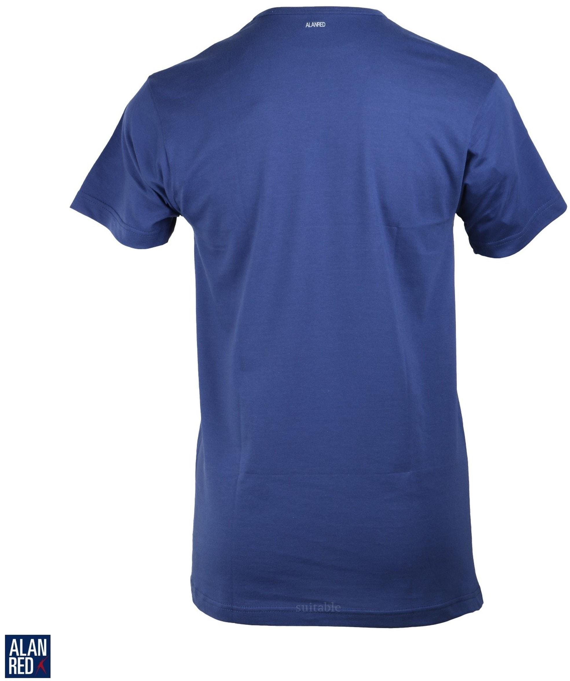 Alan Red Derby O-Neck T-shirt Ultramarine 1-Pack foto 1