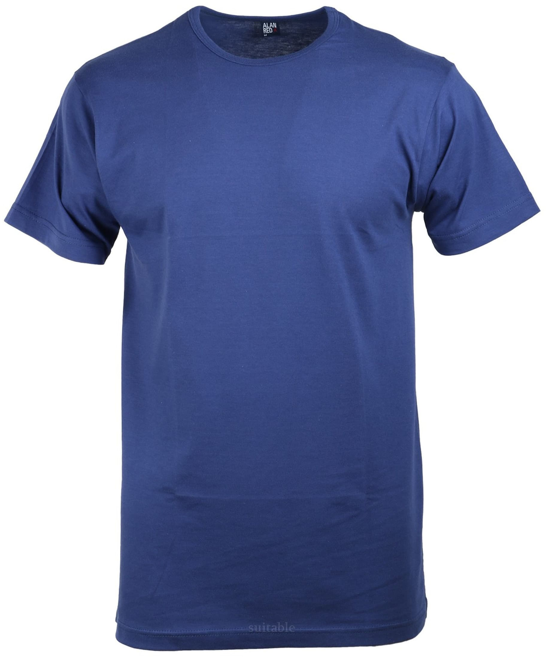 Alan Red Derby O-Neck T-shirt Ultramarine 1-Pack foto 0