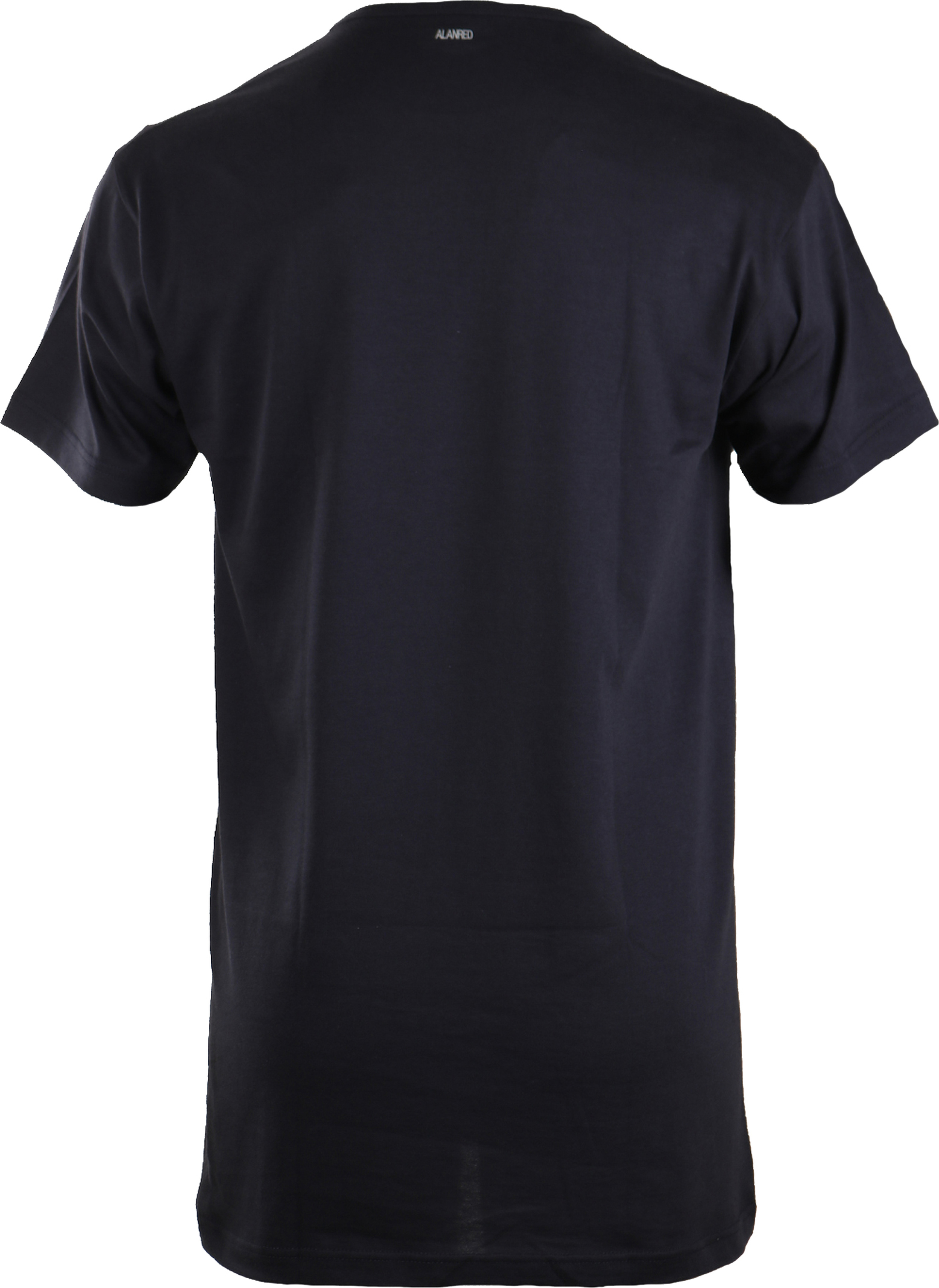 Alan Red Extra Lang T-Shirts Derby Dunkelblau (1-Pack) foto 1