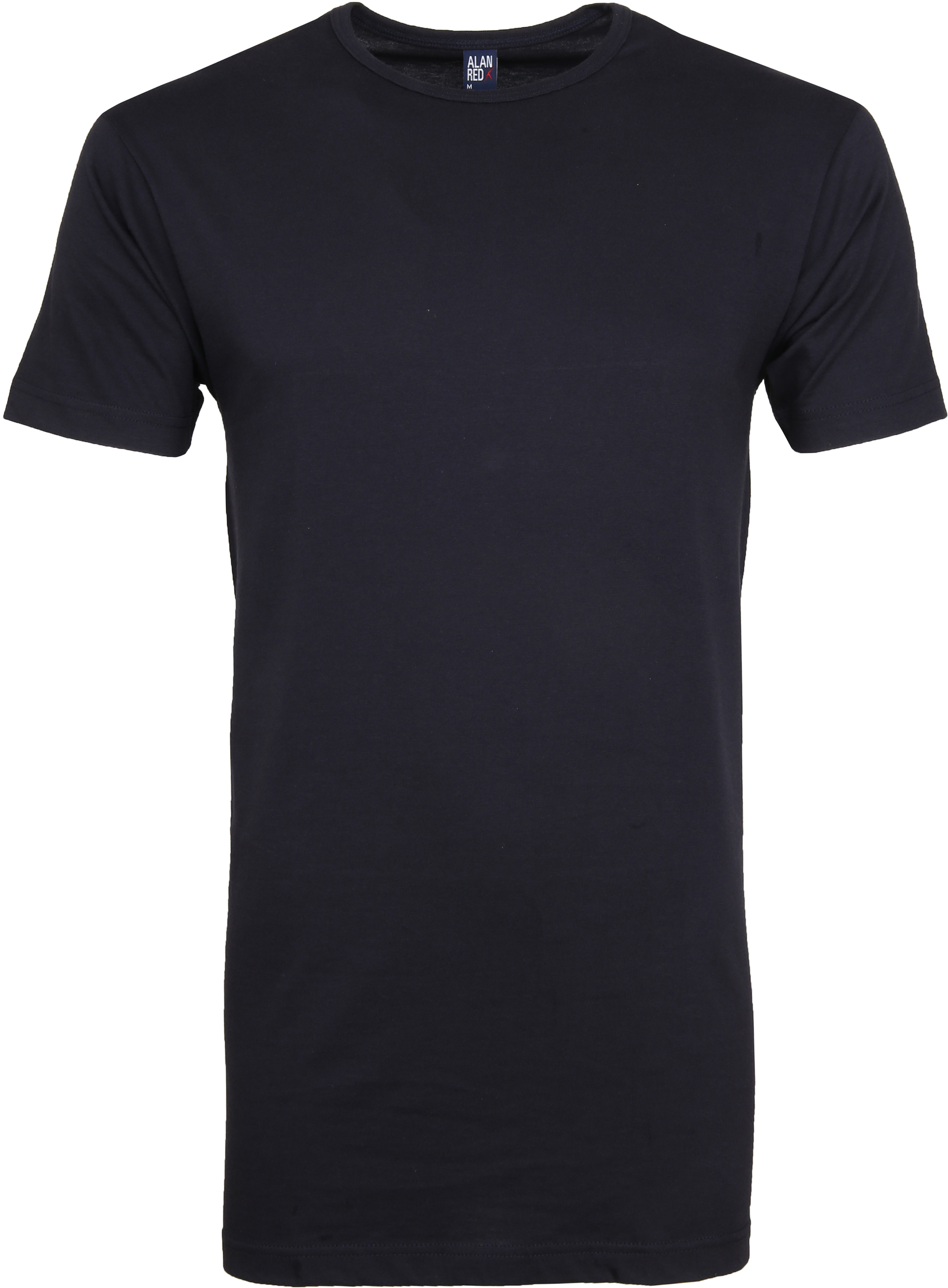 Alan Red Extra Lang T-Shirts Derby Dunkelblau (1-Pack) foto 0