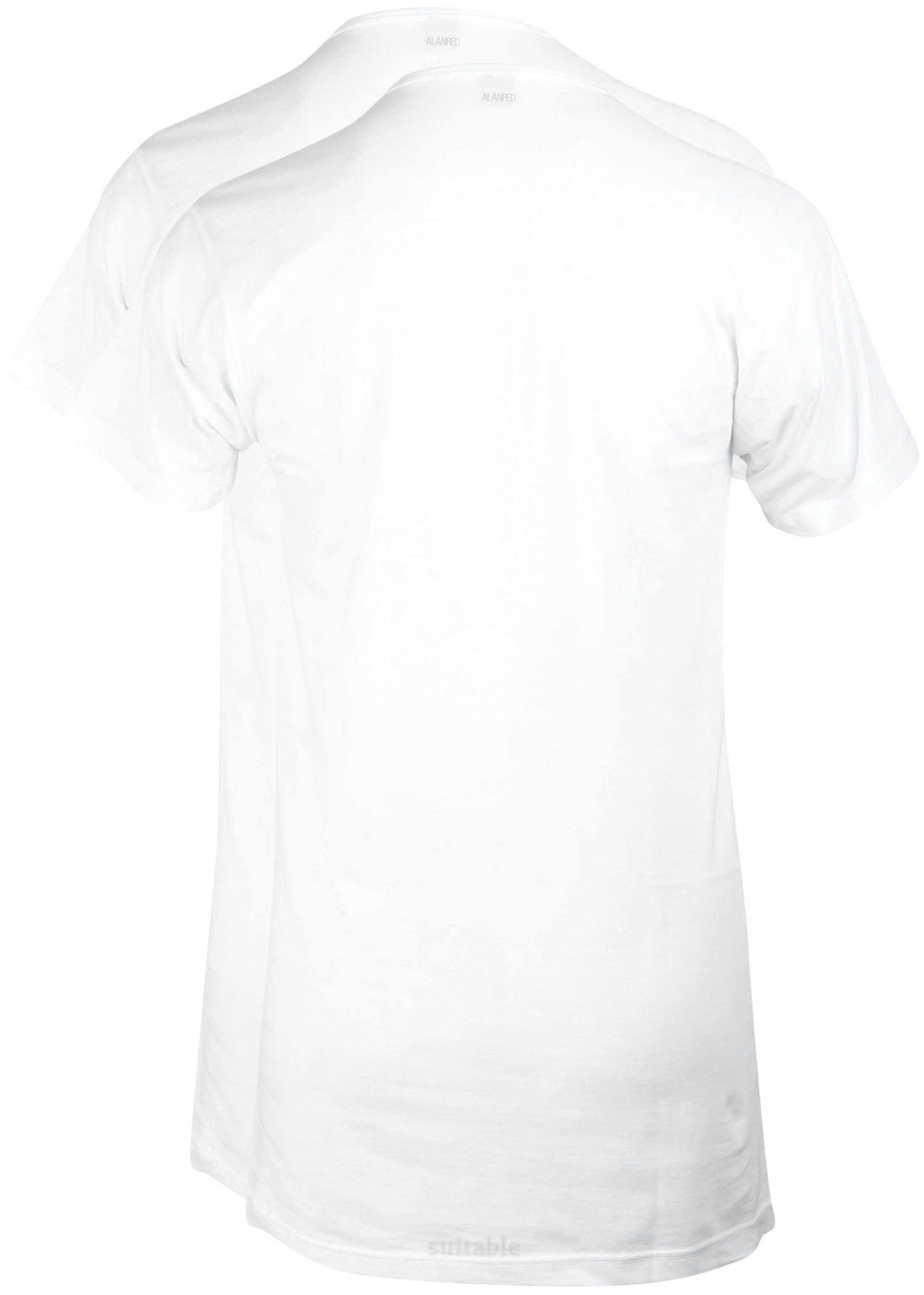 Alan Red Extra Lang T-Shirts Vermont (2er-Pack) foto 2