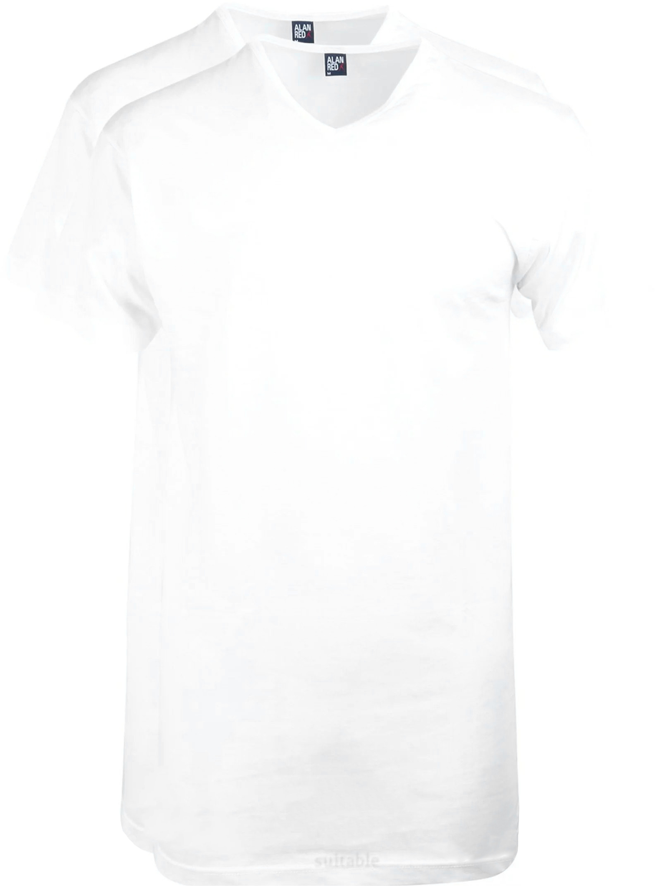Alan Red Extra Lang T-Shirts Vermont (2er-Pack) foto 0