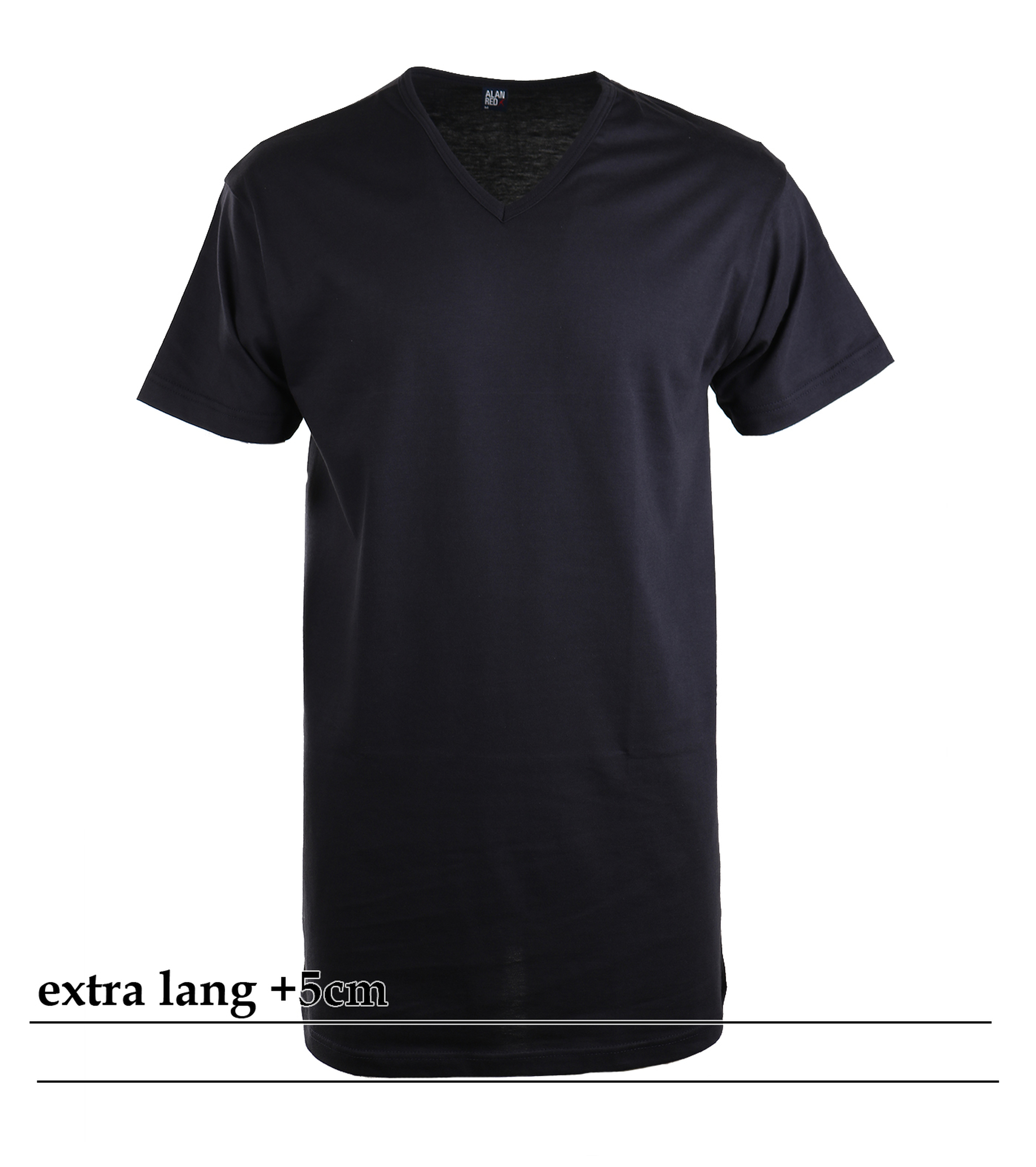 Alan Red Extra Lang T-Shirts Vermont Dunkelblau (1-Pack) foto 0