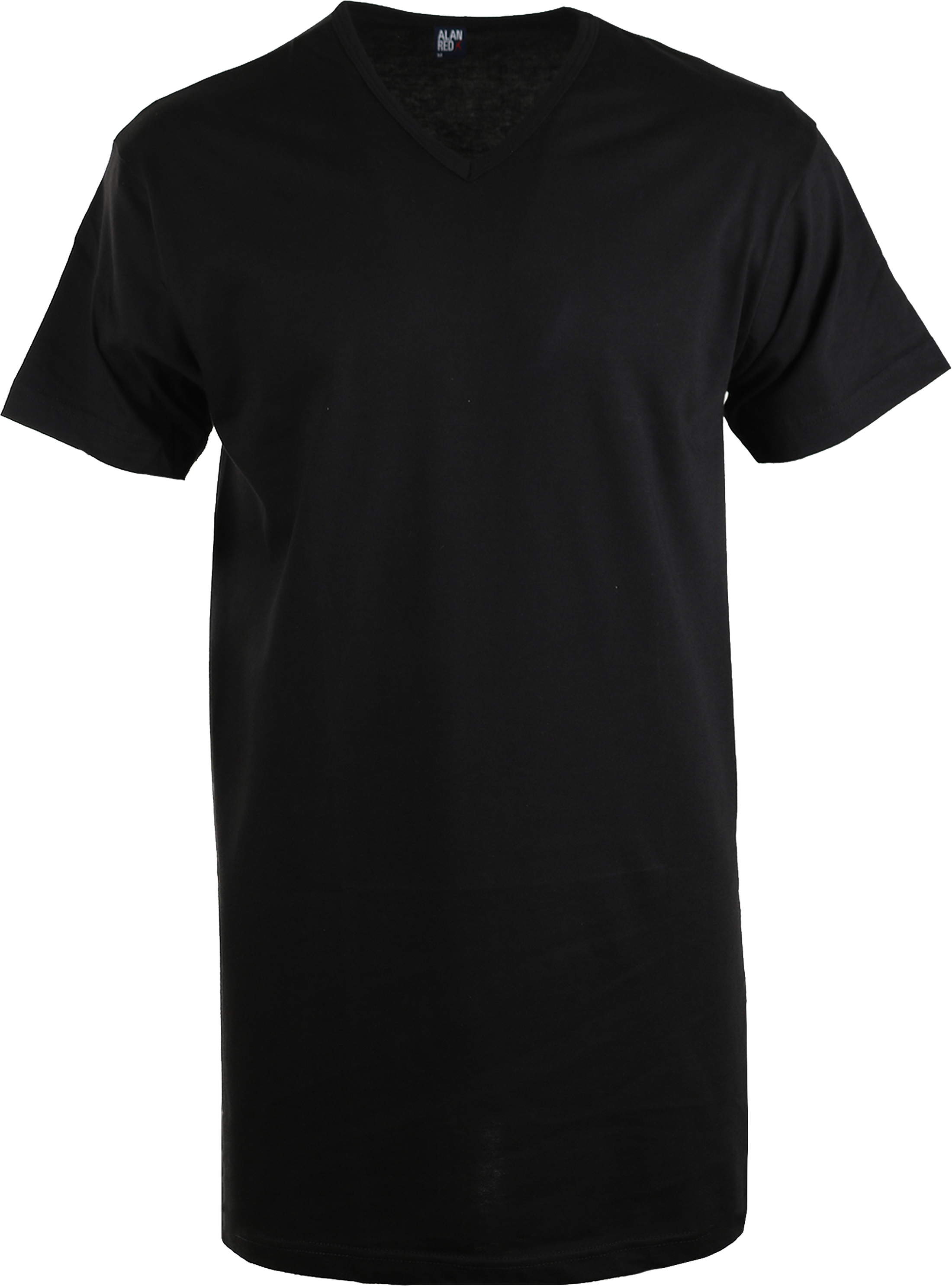 Alan Red Extra Long T-Shirt Vermont Black (1pack) foto 0
