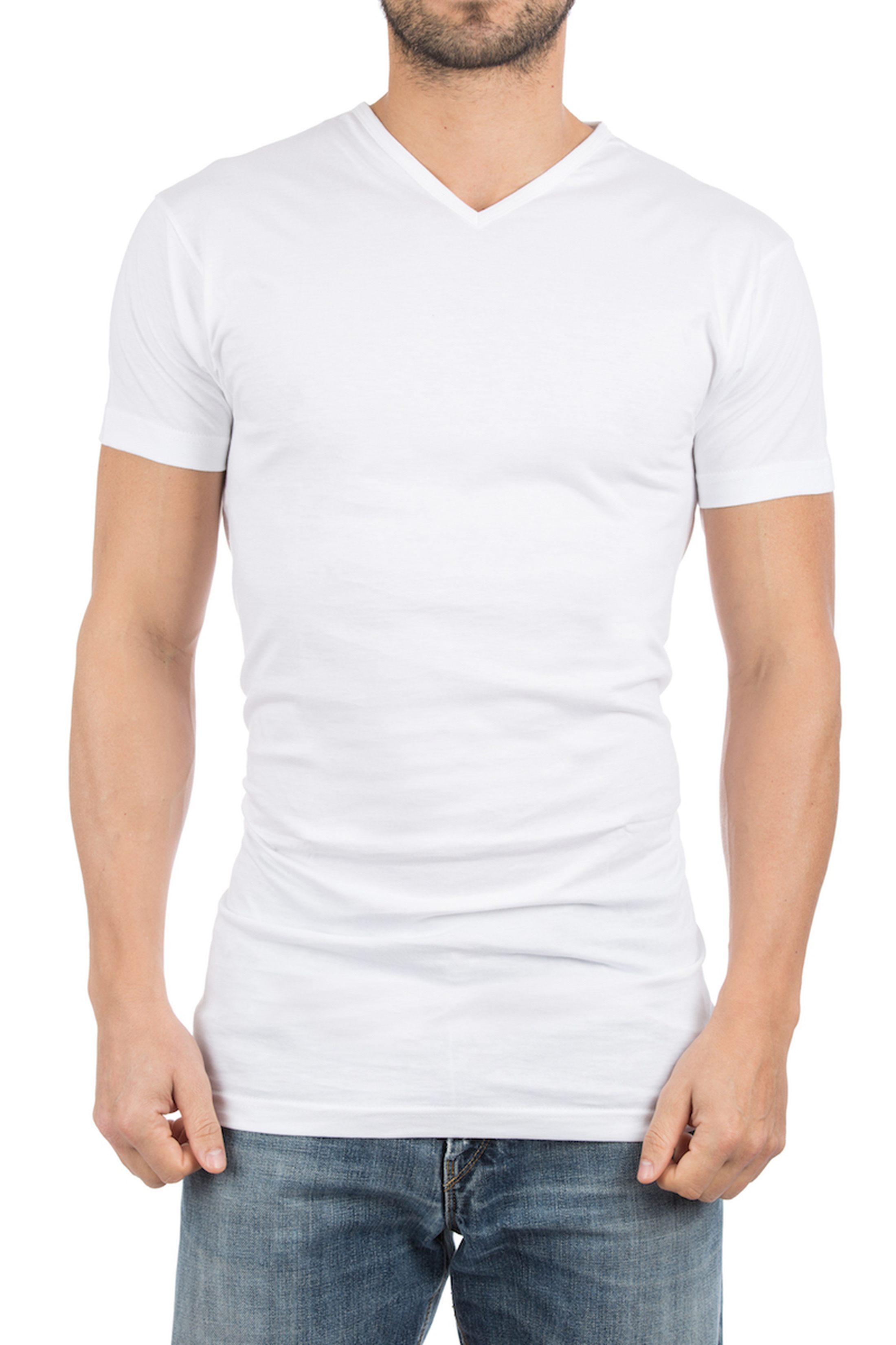 Alan Red Extra Long T-Shirt Vermont Navy (1pack) photo 3