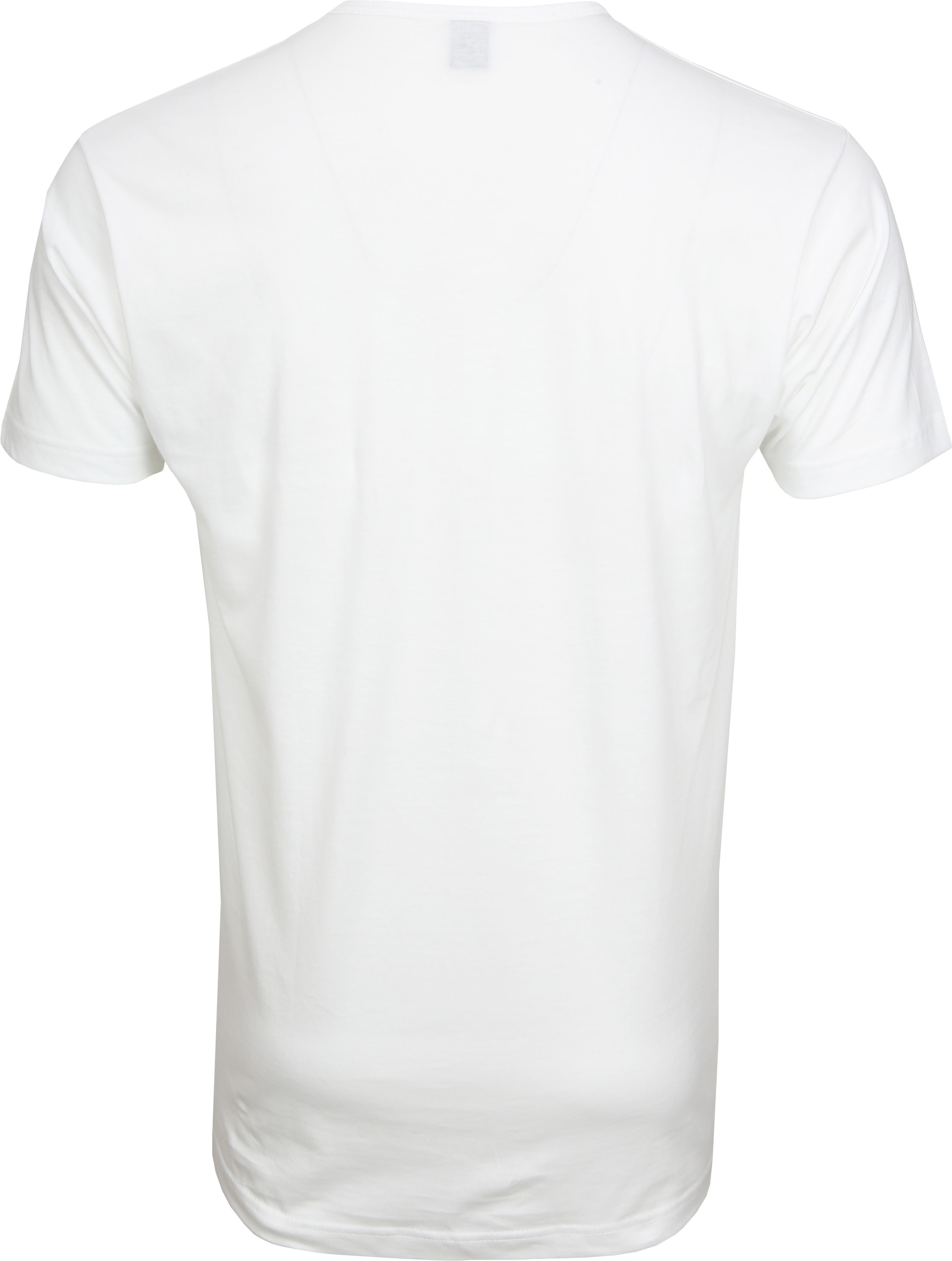 Alan Red Mike T-shirt Logo White foto 2