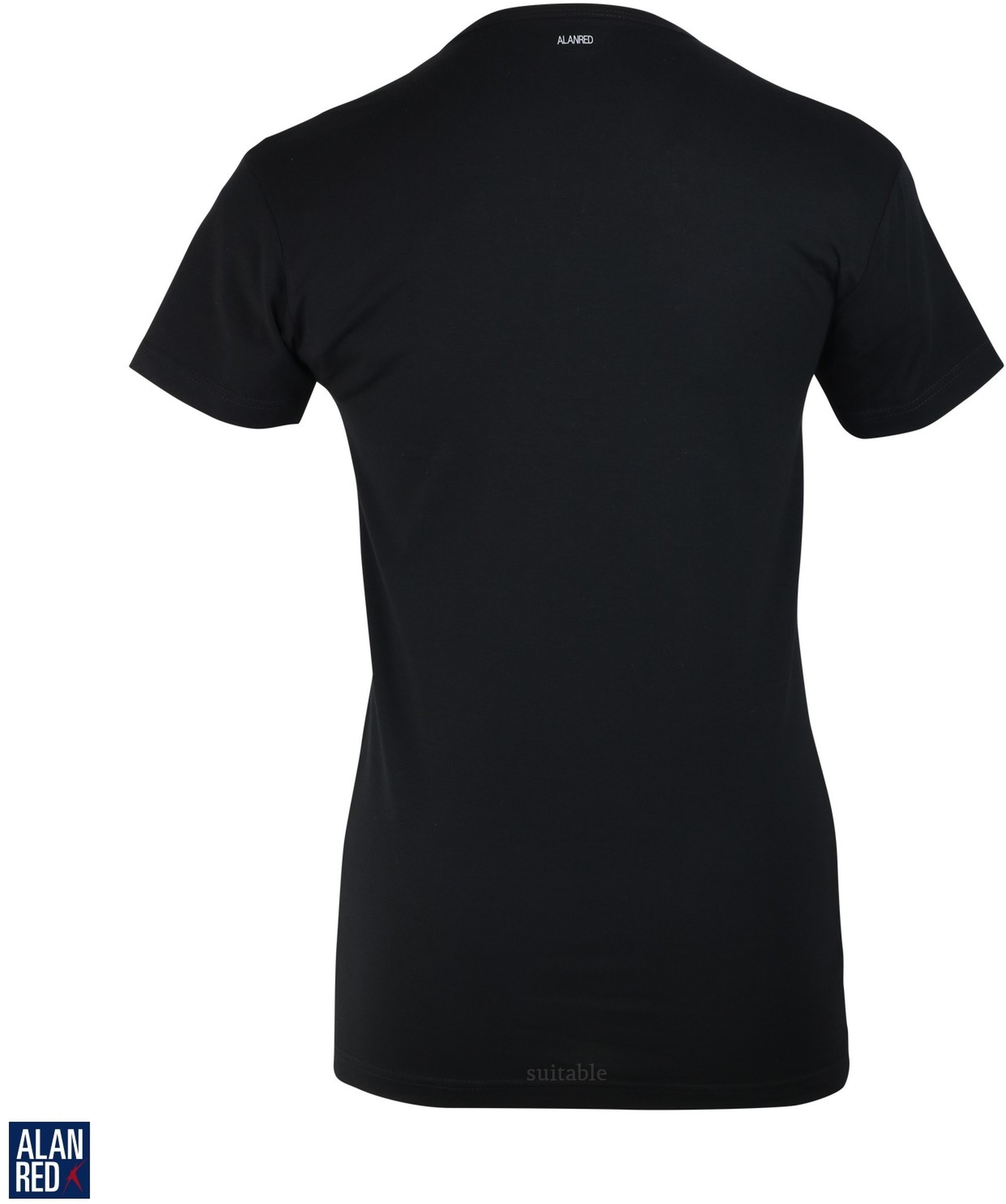 Alan Red Oklahoma T-shirt Stretch Black 1-Pack foto 1