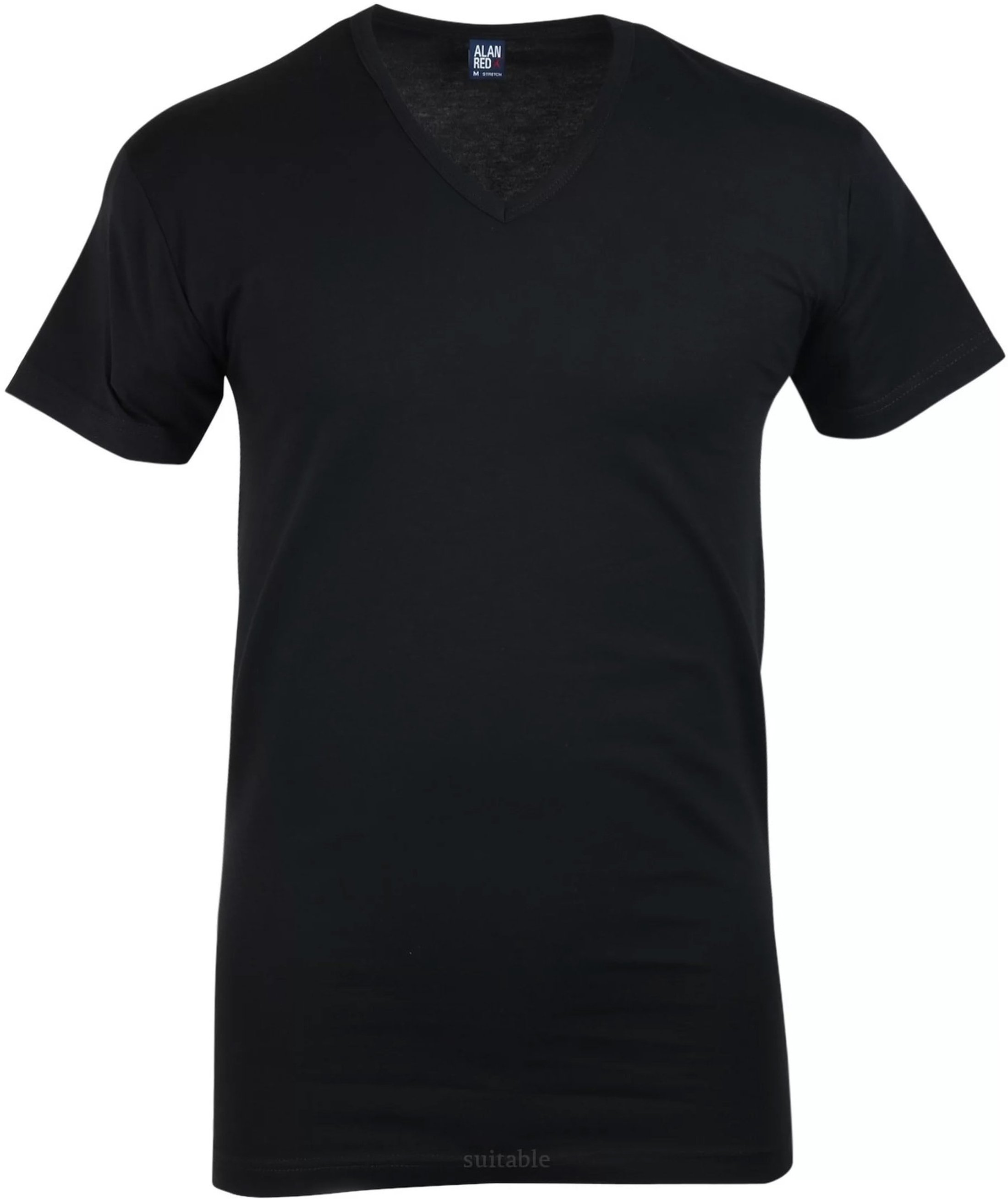 Alan Red Oklahoma T-shirt Stretch Black 1-Pack foto 0