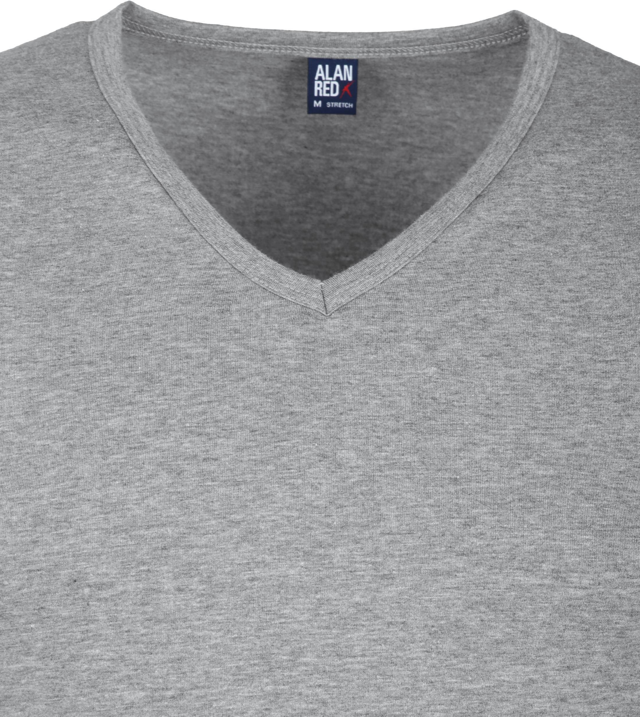 Alan Red Oklahoma T-shirt Stretch Grijs (2pack) foto 2